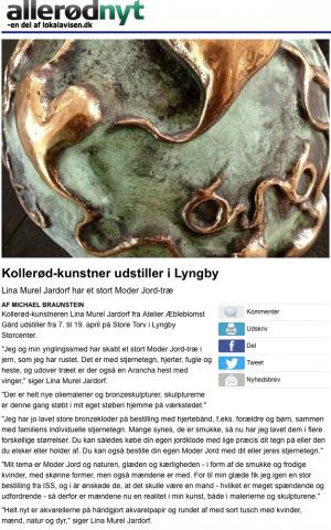 Fra 7. april udstiller Kollerød-kunstner i Lyngby læs mere fra tidligere artikler ved at klikke på teksten under artikel